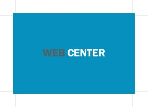 tisk vizitk web center